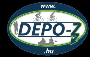 DEPO-Z kajak, kenu bicikli kölcsönző logo