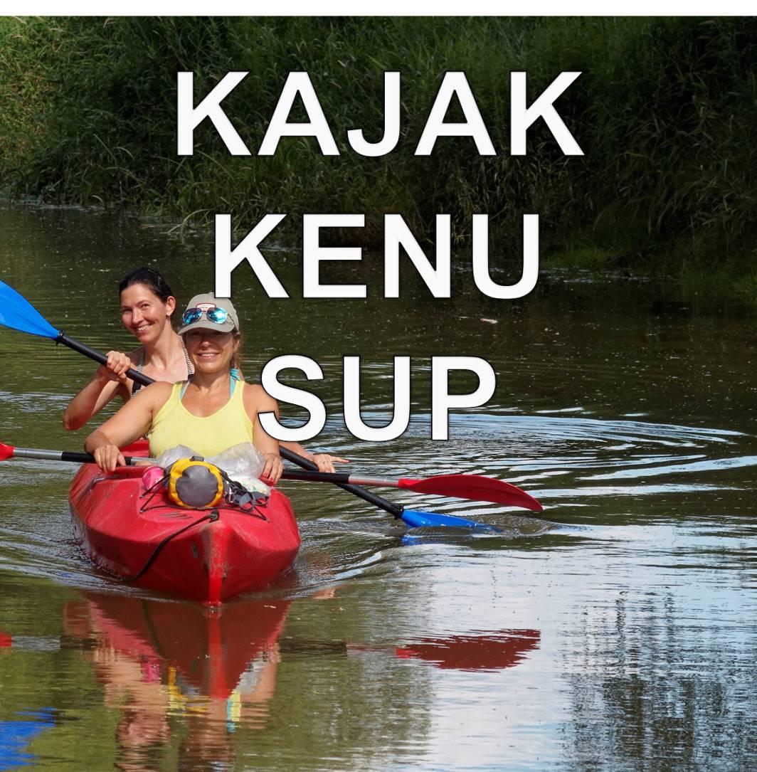 Kajak, kenu, SUP bérlés/kölcsönzés árak
